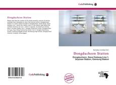 Bookcover of Dongducheon Station