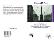 Bookcover of Élisabeth d'York