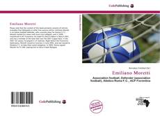 Bookcover of Emiliano Moretti
