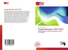 Bookcover of Coupe Mitropa 1972-1973