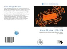 Bookcover of Coupe Mitropa 1973-1974