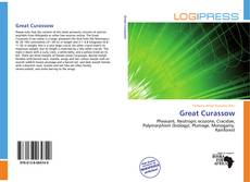 Great Curassow kitap kapağı
