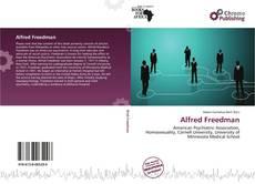 Buchcover von Alfred Freedman