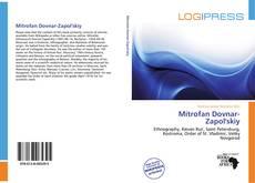Buchcover von Mitrofan Dovnar-Zapol'skiy