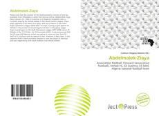 Capa do livro de Abdelmalek Ziaya