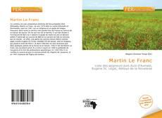 Martin Le Franc的封面