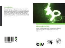 Bookcover of Henry Bohlen