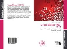 Bookcover of Coupe Mitropa 1982-1983