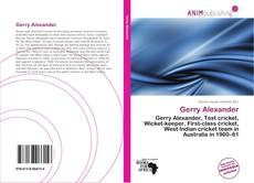 Bookcover of Gerry Alexander
