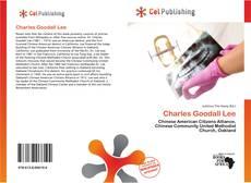 Charles Goodall Lee kitap kapağı