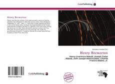 Обложка Henry Brewerton