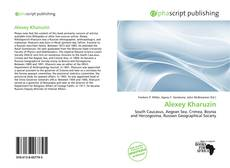 Bookcover of Alexey Kharuzin