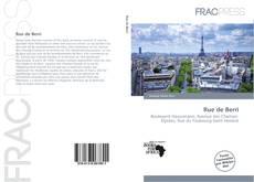 Bookcover of Rue de Berri