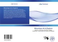 Mécanique de la Rupture kitap kapağı