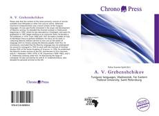 Bookcover of A. V. Grebenshchikov