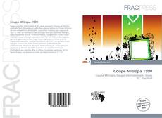 Bookcover of Coupe Mitropa 1990