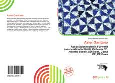 Capa do livro de Asier Garitano
