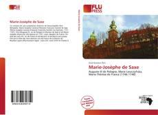 Couverture de Marie-Josèphe de Saxe