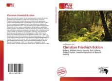 Borítókép a  Christian Friedrich Ecklon - hoz