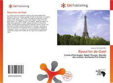 Capa do livro de Raoul Ier de Gaël