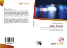 Capa do livro de Edson Tavares