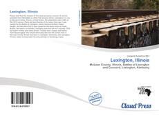 Capa do livro de Lexington, Illinois