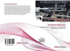 Bookcover of Croatian Railways