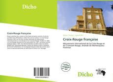 Bookcover of Croix-Rouge française