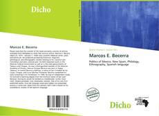 Portada del libro de Marcos E. Becerra