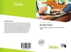 Bookcover of Dudley Pope
