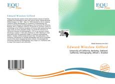 Edward Winslow Gifford kitap kapağı