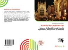 Capa do livro de Famille de Grandmesnil