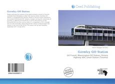Bookcover of Gormley GO Station