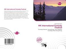 Обложка HK International Comedy Festival