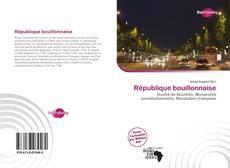 Couverture de République bouillonnaise