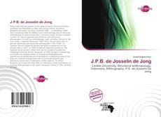 Portada del libro de J.P.B. de Josselin de Jong