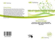 Cheryl Araujo kitap kapağı