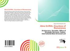 Buchcover von Aline Griffith, Countess of Romanones