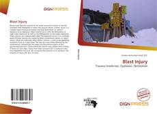 Bookcover of Blast Injury