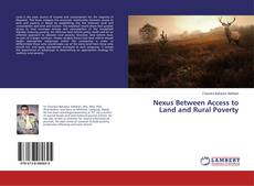 Nexus Between Access to Land and Rural Poverty的封面