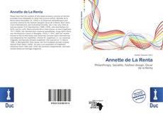 Capa do livro de Annette de La Renta