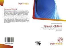 Congress of Estonia kitap kapağı