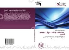 Borítókép a  Israeli Legislative Election, 1965 - hoz