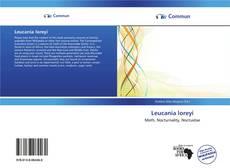 Couverture de Leucania loreyi