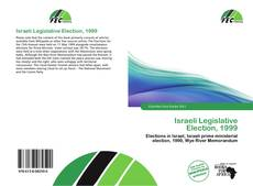Bookcover of Israeli Legislative Election, 1999