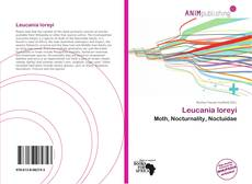 Bookcover of Leucania loreyi