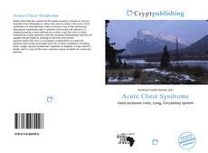 Acute Chest Syndrome kitap kapağı