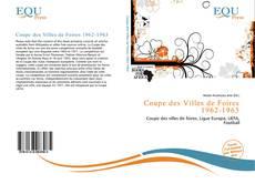 Обложка Coupe des Villes de Foires 1962-1963