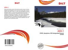 Bookcover of ADH-1