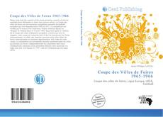 Обложка Coupe des Villes de Foires 1965-1966